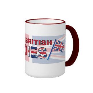 I love British ladies Ringer Mug