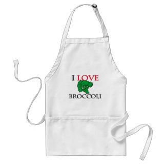 I Love Broccoli Aprons