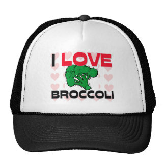 I Love Broccoli Cap
