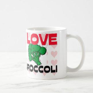 I Love Broccoli Coffee Mug