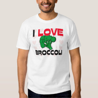 I Love Broccoli Shirt