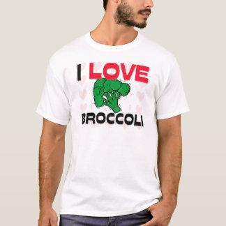 I Love Broccoli T-Shirt
