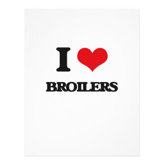 I Love Broilers Full Color Flyer