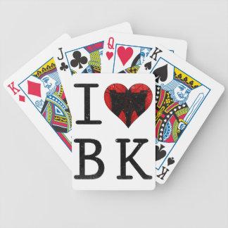 I Love Brooklyn, BK New York Poker Deck
