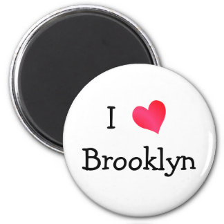 I Love Brooklyn Magnet