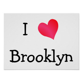 I Love Brooklyn Poster