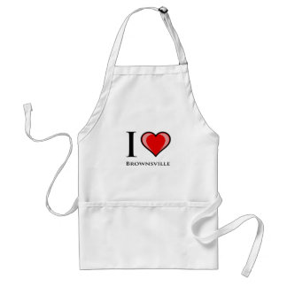 I Love Brownsville Apron
