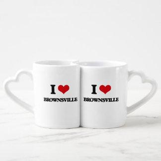 I love Brownsville Lovers Mug