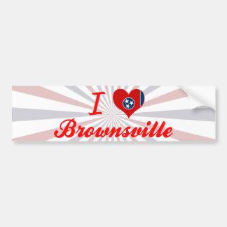 I Love Brownsville, Tennessee Bumper Sticker