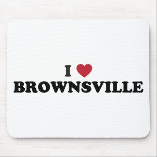 I Love Brownsville Texas Mousepads
