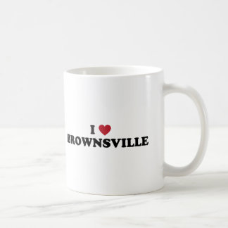 I Love Brownsville Texas Coffee Mugs