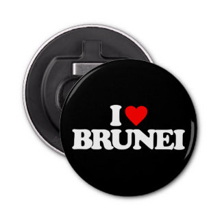 I LOVE BRUNEI BOTTLE OPENER