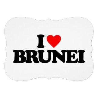 I LOVE BRUNEI CUSTOM INVITES