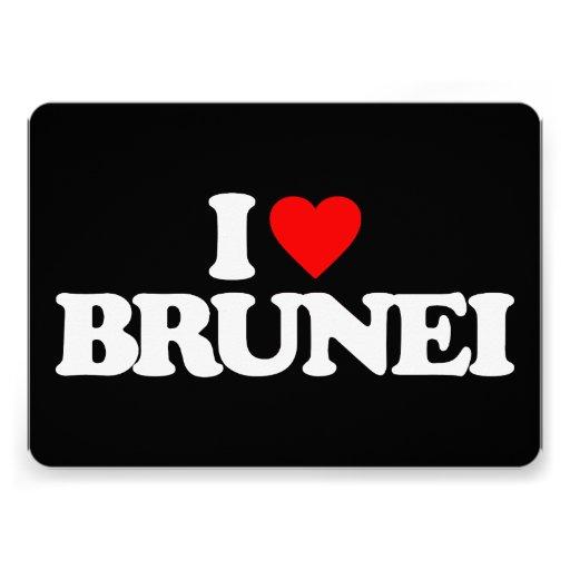 I LOVE BRUNEI CARDS
