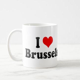 I Love Brussels, Belgium Mug