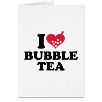 I love Bubble Tea Card