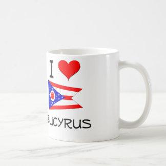 I Love Bucyrus Ohio Basic White Mug