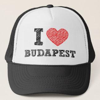 I Love Budapest Trucker Hat