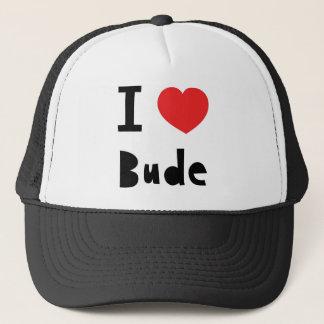 I love Bude Trucker Hat