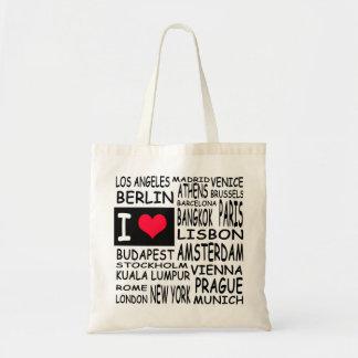 I love... budget tote bag