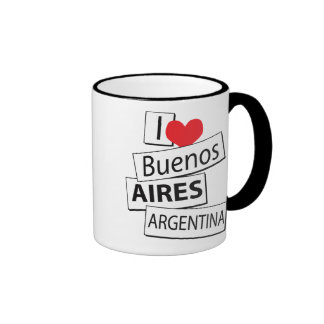 I Love Buenos Aires Mugs