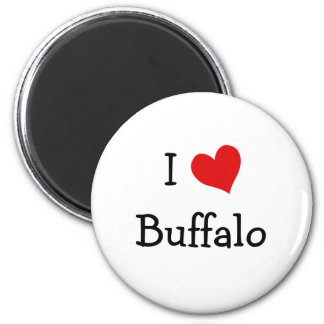 I Love Buffalo Magnet