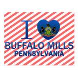 I Love Buffalo Mills, PA Post Cards