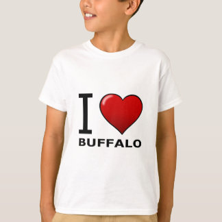 I LOVE BUFFALO,NY - NEW YORK T-Shirt