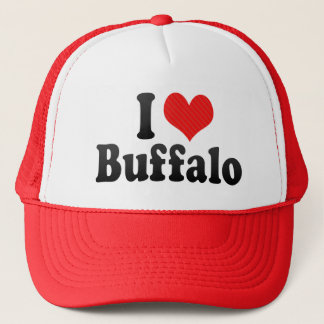 I Love Buffalo Trucker Hat