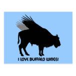 I love buffalo wings post cards