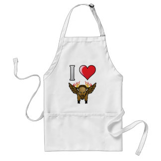 I Love Buffalo Wings Standard Apron