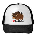 I Love Buffalos Hats