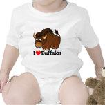 I Love Buffalos Romper