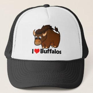 I Love Buffalos Trucker Hat