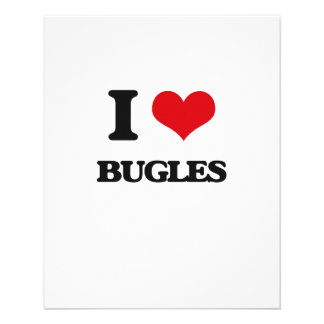 I Love Bugles 11.5 Cm X 14 Cm Flyer