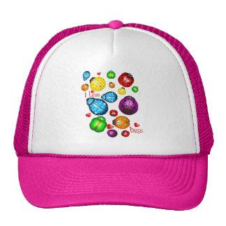I Love Bugs  Hat
