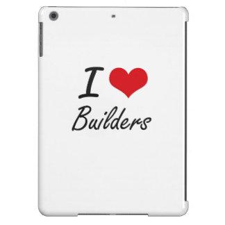 I Love Builders Artistic Design iPad Air Case