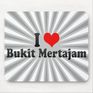 I Love Bukit Mertajam, Malaysia Mousepad