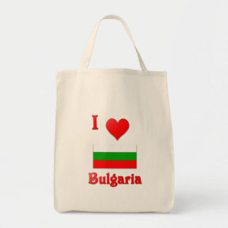 I Love Bulgaria Canvas Bag