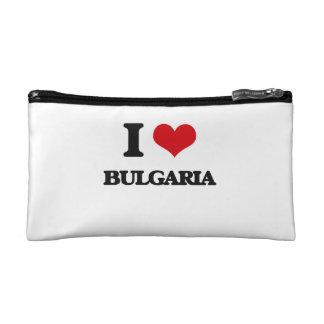 I Love Bulgaria Makeup Bags