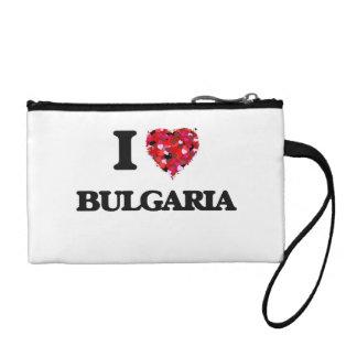 I Love Bulgaria Change Purse