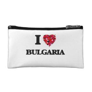 I Love Bulgaria Cosmetics Bags