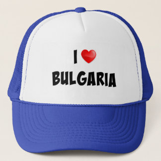 """I Love Bulgaria"" custom design Trucker Hat"