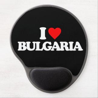 I LOVE BULGARIA GEL MOUSE PAD