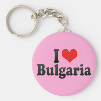 I Love Bulgaria Key Ring