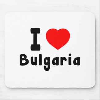 I Love Bulgaria. Mouse Pad