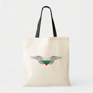I Love Bulgaria -wings Budget Tote Bag