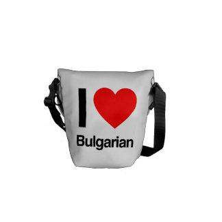 i love bulgarian messenger bags