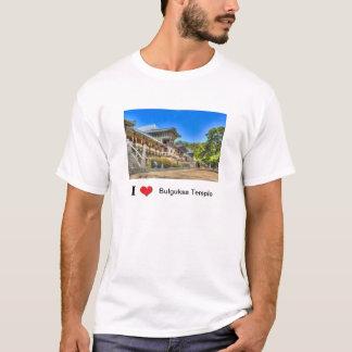 I Love bulguksa Temple T-Shirt