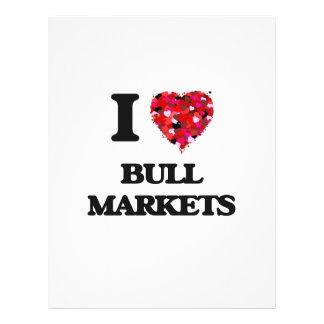 I Love Bull Markets 21.5 Cm X 28 Cm Flyer